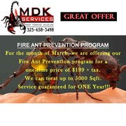 Fire Ant Prevention Program